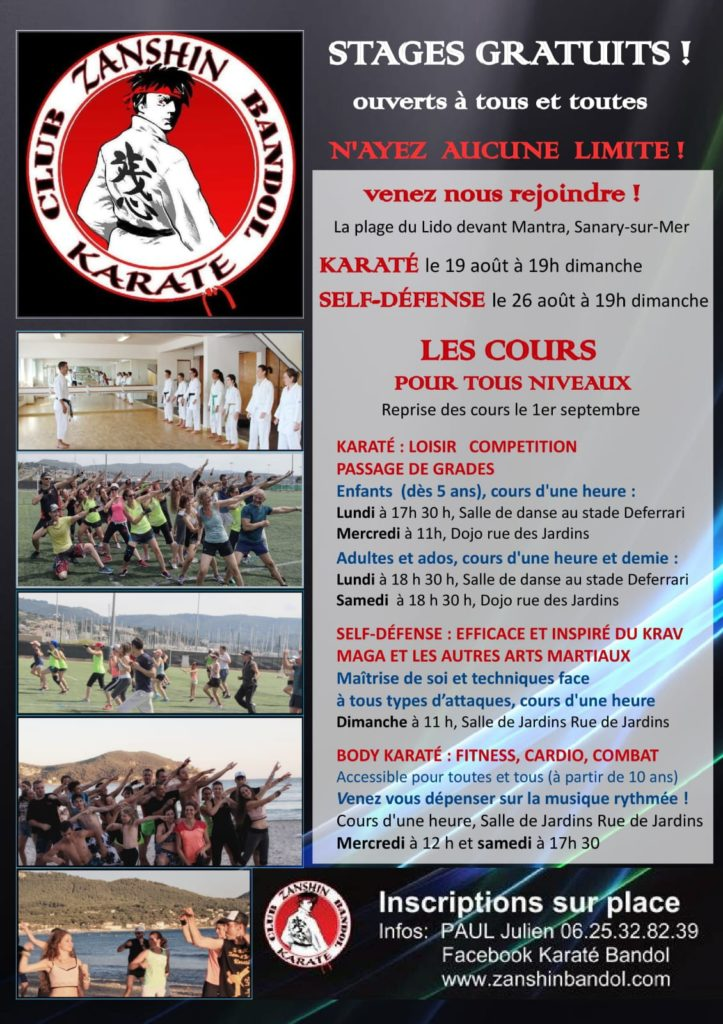 poster stages cours