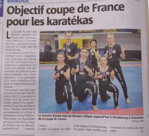 coupe regionale body karate